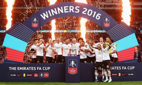 Manchester United - 2016 FA Cup Winners