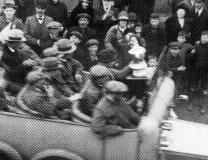 Spurs parade the 1921 FA Cup