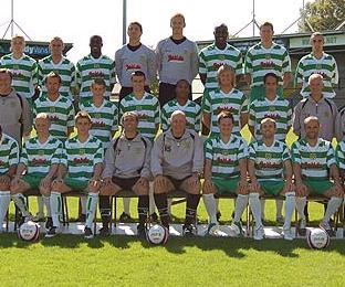 Yeovil Town - the last of the 92 League clubs alphabetically in 2008-09
