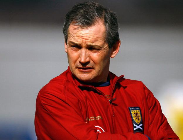 Current Scotland football manager George Burley