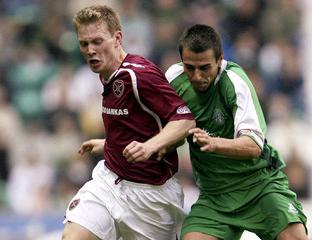Hearts & Hibs battle it out in the Edinburgh Football Derby